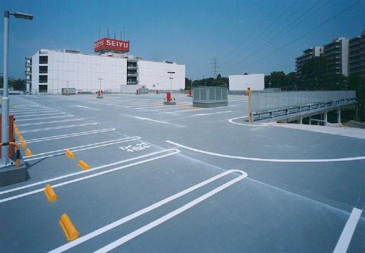 所沢市商業施設 立体駐車場増築計画