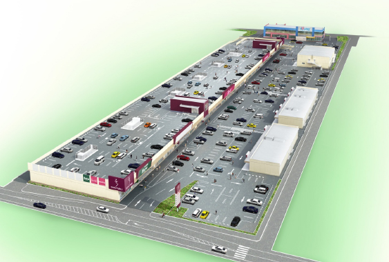 長峰西ショッピングモール計画
