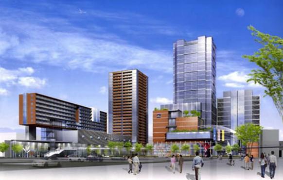 広島市若草町再開発計画(北街区)