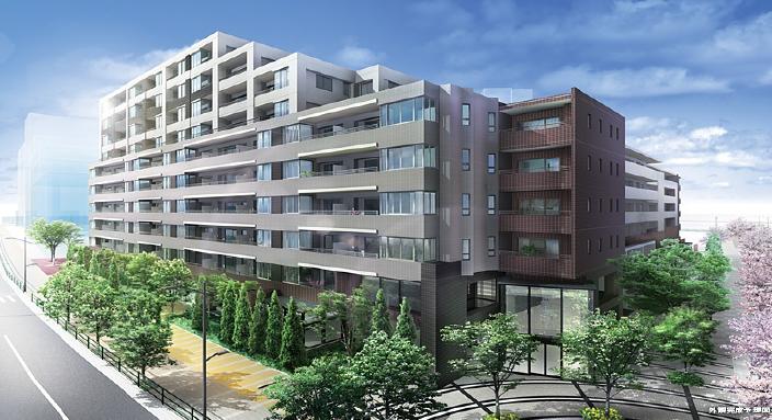 西新井駅西口地区(E街区)計画
