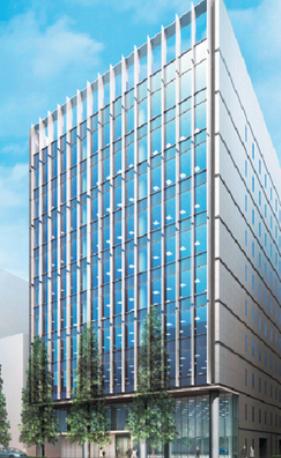 京橋1丁目ビル新築工事