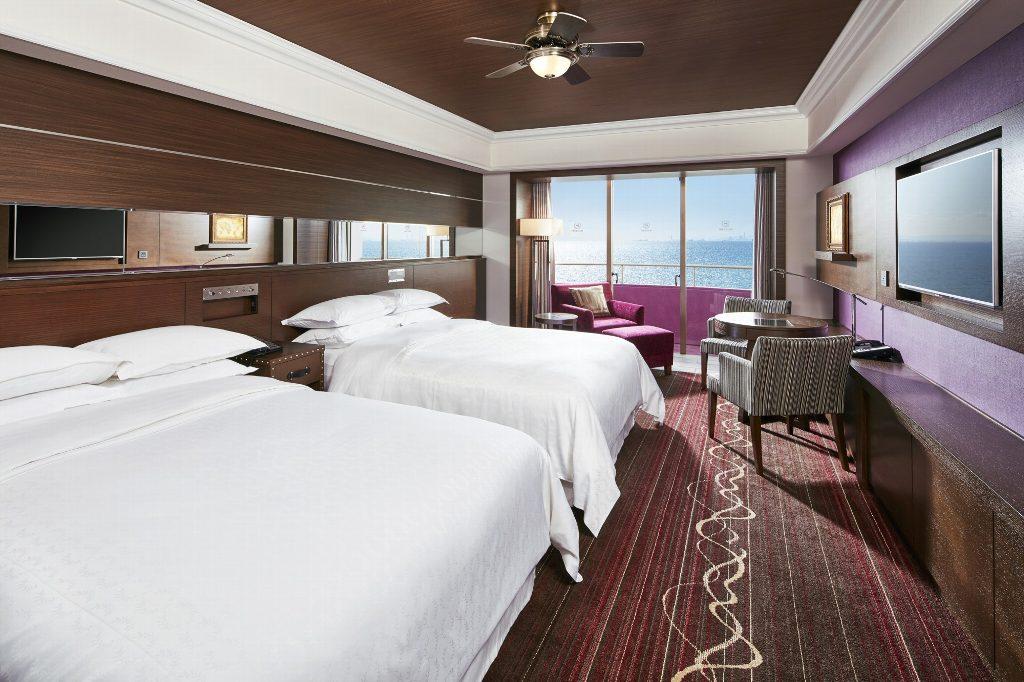 シェラトン・グランデ・トーキョーベイ・ホテル客室リノベーション工事