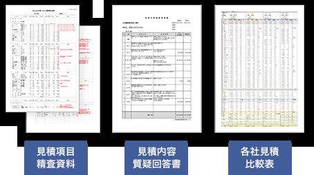 ゼネコン見積内容の精査・妥当性検証